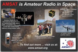 AMSAT is Amateur Radio in Space