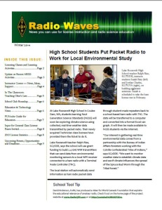 ARRL Radio Waves Winter 2014