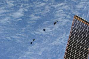 Deployment of Amateur Radio CubeSats from ISS 2014-02-28-0730