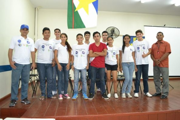 ARISS PV8DX students at Escola Estadual 'Gonçalves Dias'
