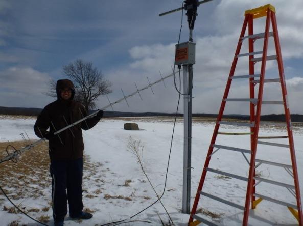 Cornell KickSat Antenna