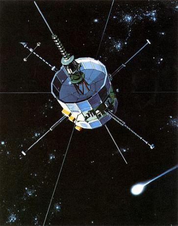 ISEE-3 - ICE Spacecraft - Image credit NASA