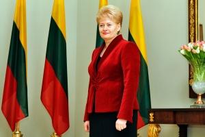 Lithuanian President Dalia Grybauskaitė - Image Augustas Didzgalvis