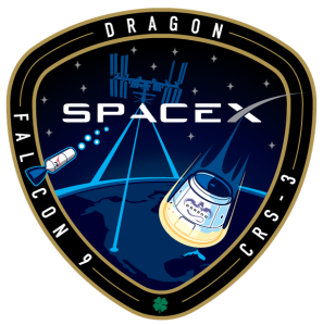 SpaceX Falcon-9 CRS-3 Mission Patch