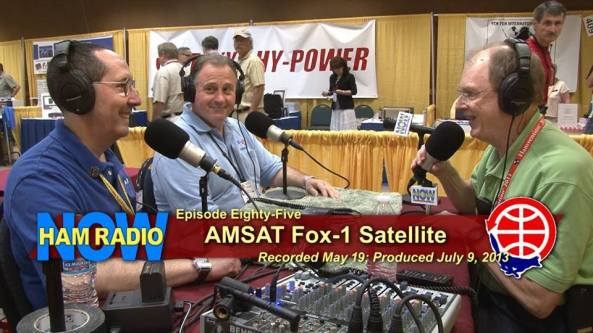 Tony Monteiro AA2TX and Mark Hammond N4MH being interviewed by Gary Pearce KN4AQ on Ham Radio Now