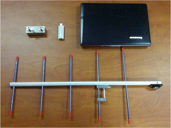 Equipment for receiving the Sprite 437 MHz signals