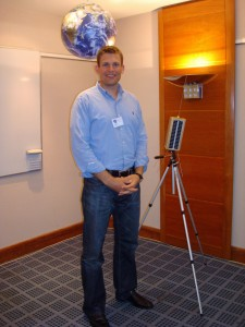 ESA Danish Astronaut Dr Andreas Mogense attended a previous Colloquium