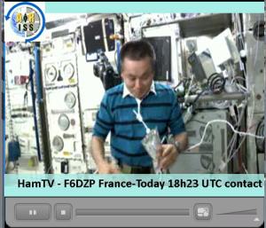 Final Commissioning of the HamTV equipment Koichi Wakata KC5ZTA