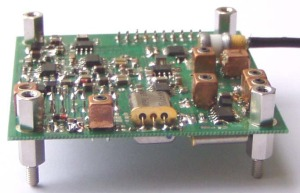 28 MHz PSK31 Receiver Board Flight Prototype - Brno University of Technology