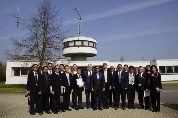 Thai Amateur Radio and Citizens Band Sub-Committee visit DARC