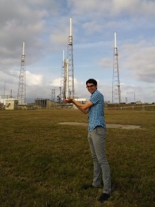 Zac Manchester KD2BHC and the SpaceX Falcon-9 CRS-3