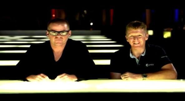 Heston Blumenthal and Tim Peake KG5BVI