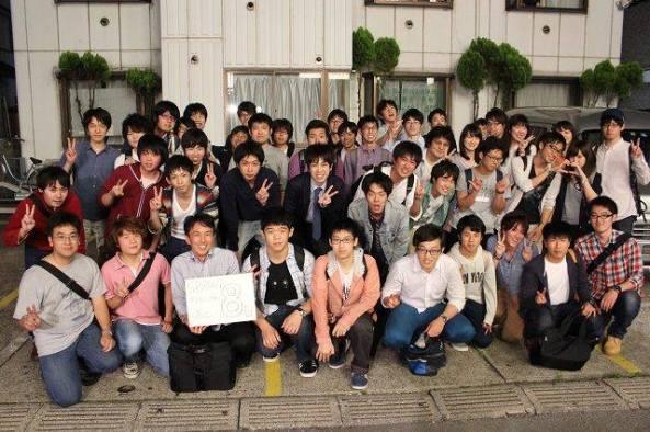 SPROUT satellite students at Nihon-Univ. Miyazaki Laboratory
