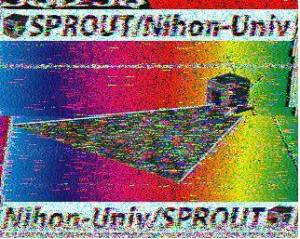 SSTV image received from SPROUT by Mario LU4EOU on May 31, 2014 at 0408 UT