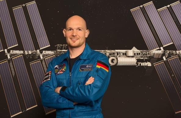 Astronaut Alexander Gerst KF5ONO