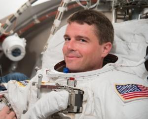 Reid Wiseman KF5LKT - Image credit NASA