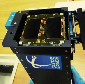 UKube-1 CubeSat installed in Deployment Pod