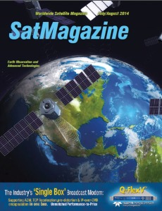 SatMagazine July-August 2014 cover