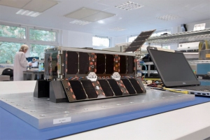 UKube-1 CubeSat (with FUNcube-2 sub-system) - Image credit Clyde Space
