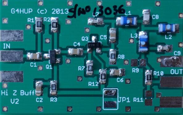V2 PCB assembled