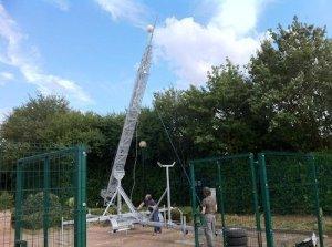 30 metre mast for EMF 2014 Internet