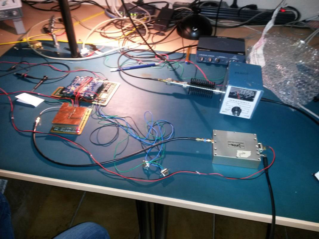 Send Your Message From The Moon Amsat Uk Wiring Messages 4m Payload Under Test