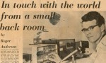 Don Beattie G3OZF (now G3BJ) in Essex Chronicle newspaper July 21, 1972