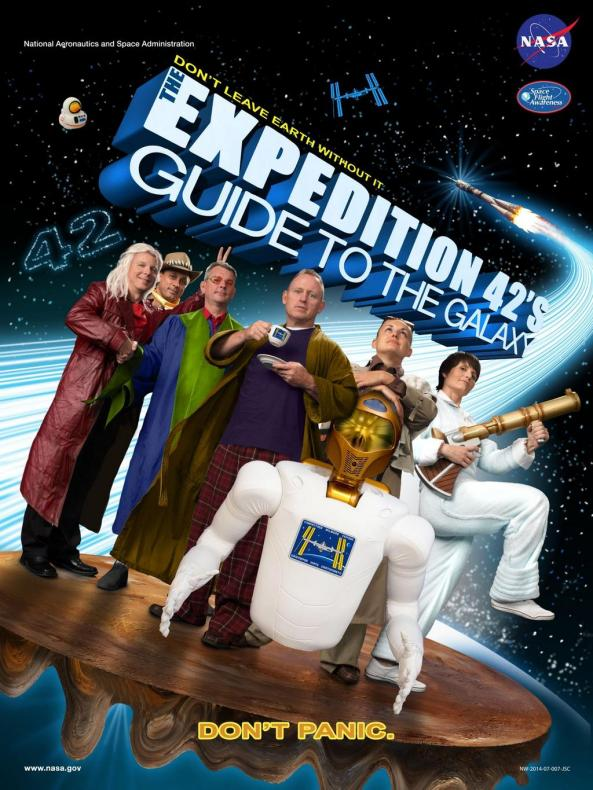 ISS Expedition 42 official crew poster