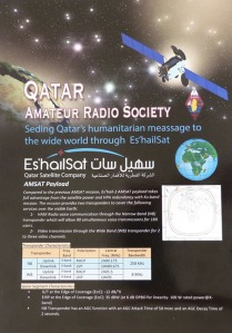 Qatar Amateur Radio Society Geostationary Transponders Leaflet Page 1