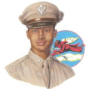 Tuskegee Airman Col. Charles E McGee
