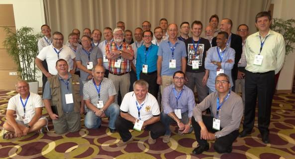 Delegates of the key IARU Region 1 C5 VHF, UHF and Microwaves C5 Committee