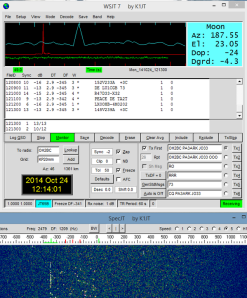 4M reception by Berend PA3ARK signal level -8 dB