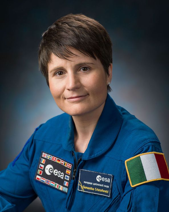 Astronaut Samantha Cristoforetti IZ0UDF - Credit NASA-Robert Markowitz