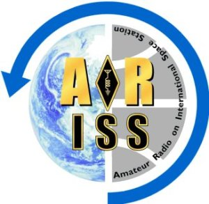 Logotipo do Rádio Amador na Estação Espacial Internacional (ARISS)