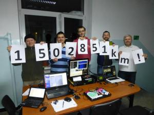 On December  6 the group received ARTSAT2:DESPATCH at 1,502,851 km