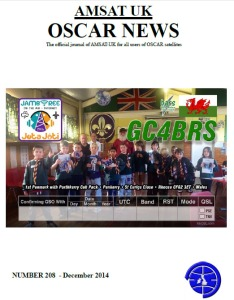 OSCAR News Issue 206 front cover