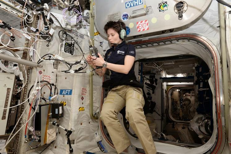 Amateur Radio Station Wb4omm: Return To Earth Of Samantha Cristoforetti IZ0UDF On NASA