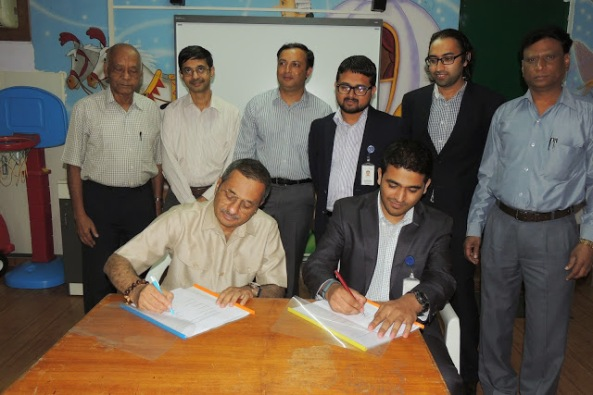 Signing of memorandum of understanding for HAMSAT II - Credit AMSAT India