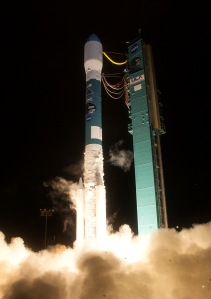 Delta 2 CubeSat Launch January 31, 2015 - Credit ULA