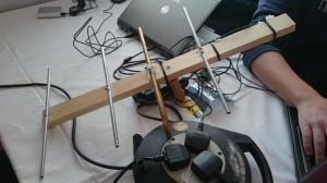 CanSat 434 MHz Tracking Antenna - Credit Ryan Laird