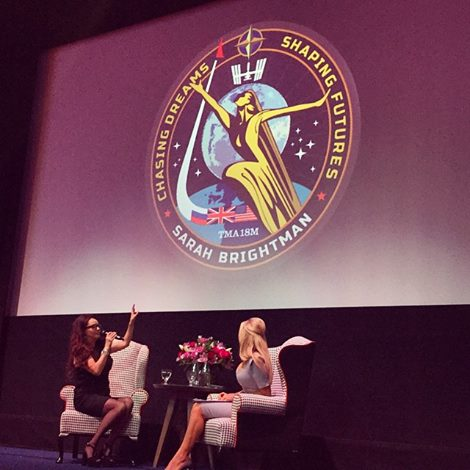 Sarah Brightman ISS Mission Patch