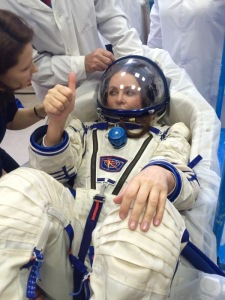 Sarah Brightman Space Flight Training February 2015