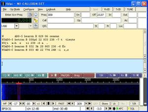 BRICsat 435.350 MHz FM PSK31 signal received by Tetsurou Satou JA0CAW at 2057 UT on May 22, 2015