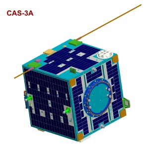 CAMSAT XW-2A formerly known as CAS-3A