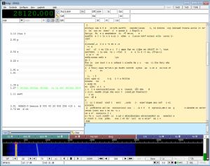 PSAT PSK31 Transponder received by Peter Goodhall 2E0SQL May 26, 2015