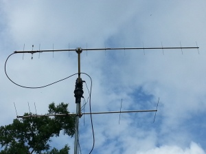 Antennas used by Hector Martinez W5CBF/CO6CBF in Texas