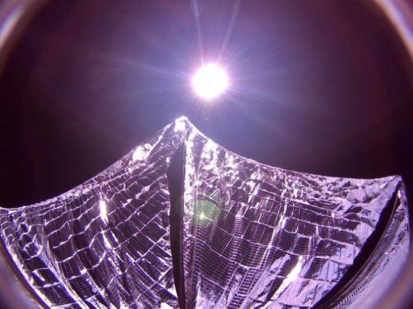 LightSail Solar Sail Deployed