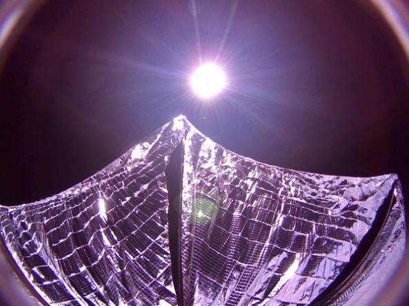 LightSail Solar Sail Deployed
