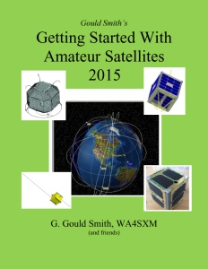 Getting Started With Amateur Satellites 2015 cover