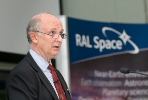 Professor Richard Holdaway - Credit RAL Space